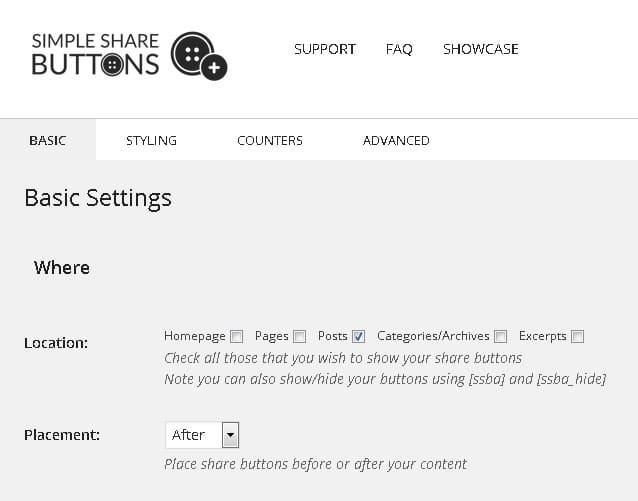 Simple share buttons adder - 5 Best WordPress social media plugins (2015)