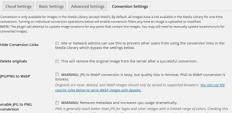 convert JPG, GIF to PNG in wordpress