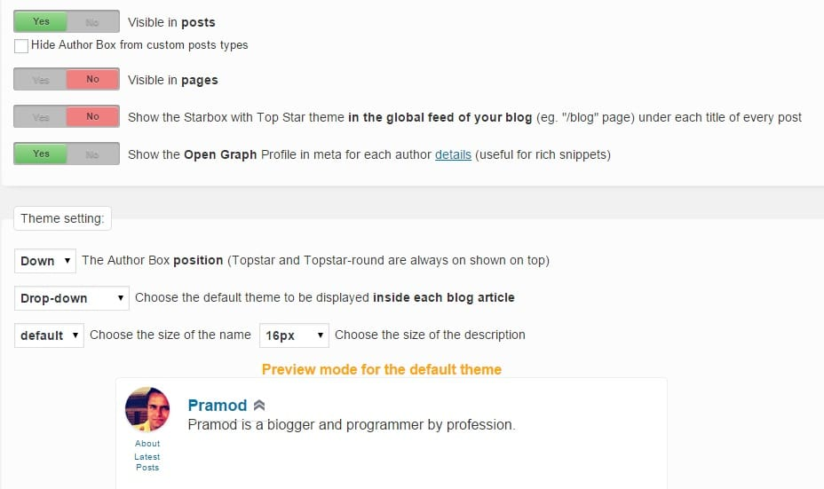 best author bio box plugins for WordPress 2015
