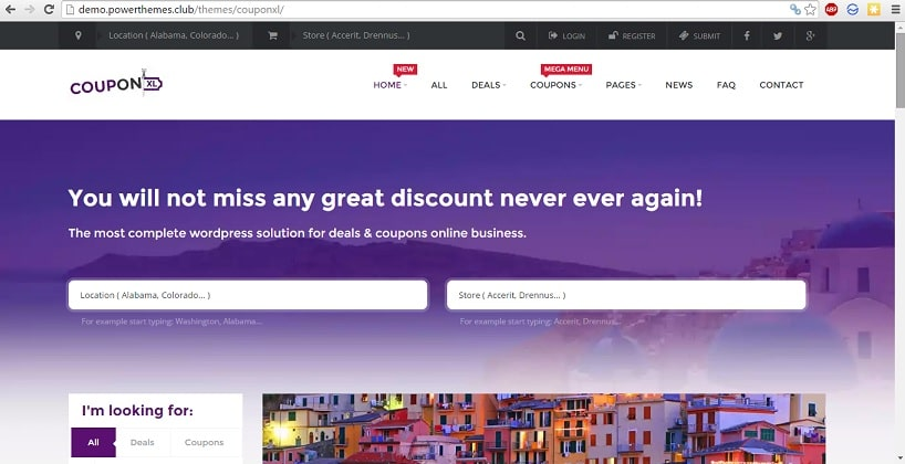 CouponXL themeforest