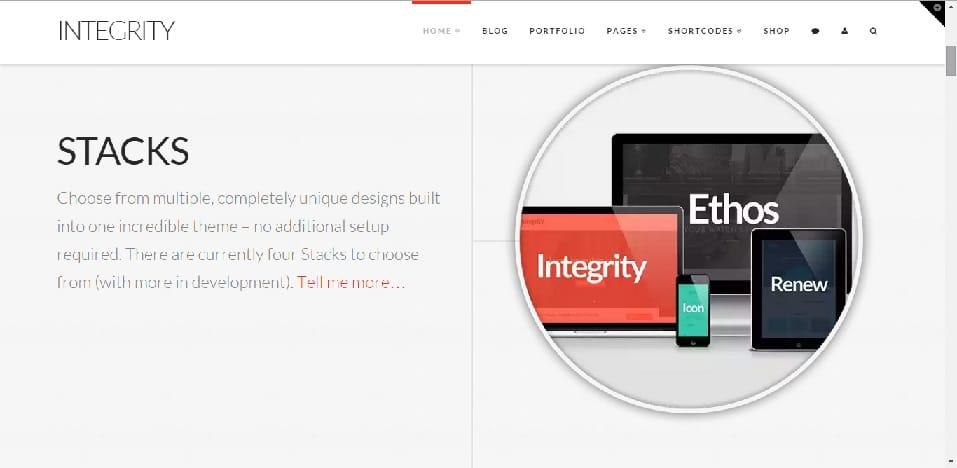 X theme integrity