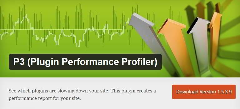 P3 Performance Profiler - reduce CPU usage in WordPress