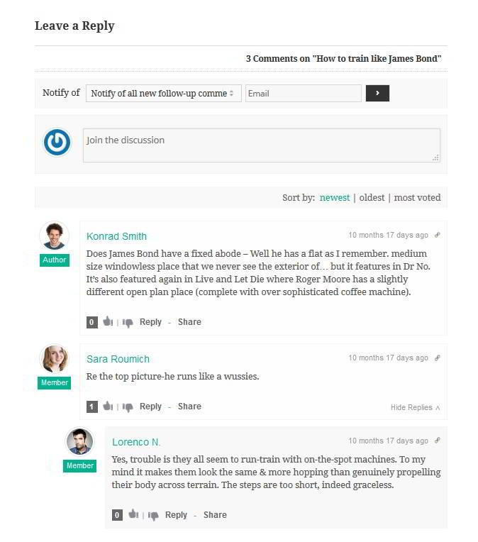 WordPress WPDiscuz plugin