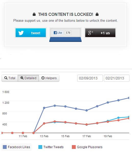 onepress social locker for wordpress review