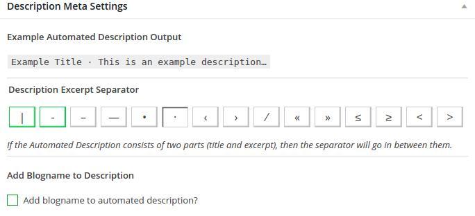 auto generate meta description
