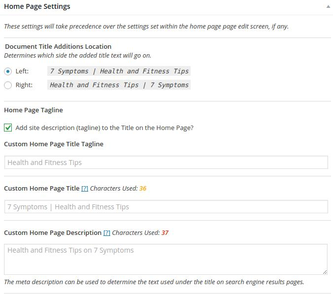 how to add a meta tag to homepage generatepress