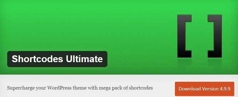 shortcodes ultimate download : best wordpress plugins