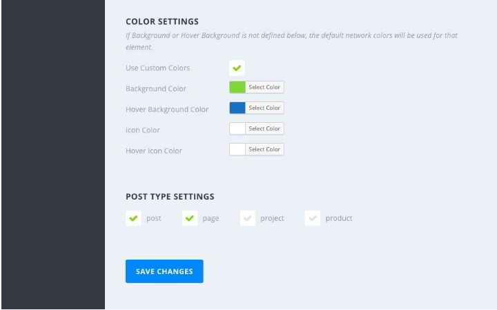 Monarch plugin color settings