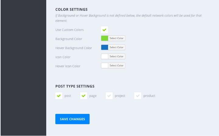 Monarch plugin color settings