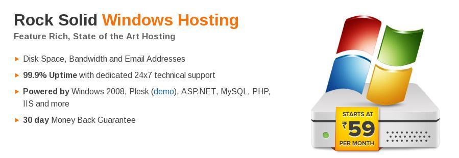 bigrock windows hosting