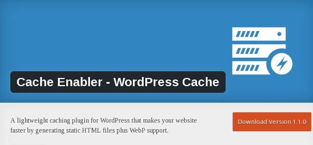 keycdn lightweigh caching plugin for WordPress