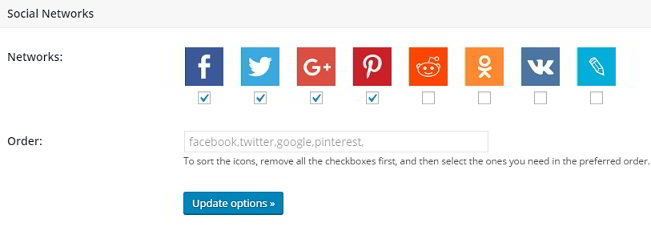 Cool Image Share themes buttons