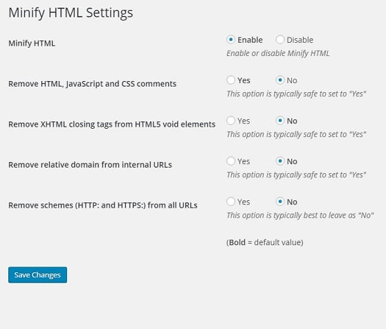 How to compress or minify HTML of a WordPress site? - Ian Carnaghan