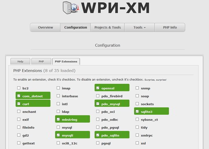 wpn-xm nginx php-fpm MySQL development stack for Windows