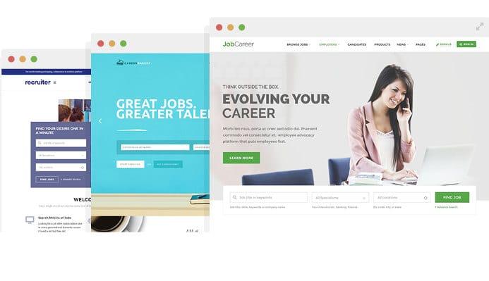 job career - best job board themes for WordPess