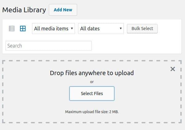 wordpress http error - cannot upload image