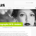 Nexus theme WordPress design