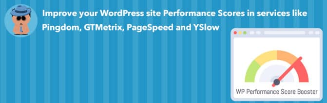 WordPress Performance Score booster - remove query strings