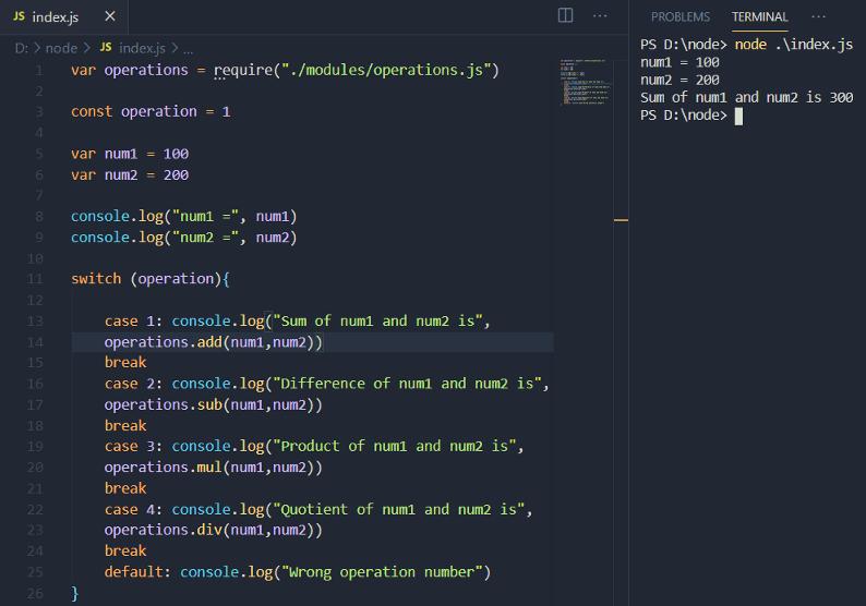 Code modifications