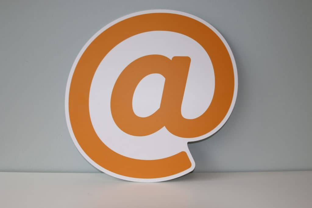 white and orange letter b logo